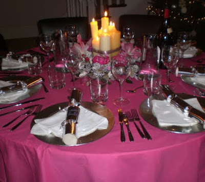 Artistic home interior design centros de mesa navidenos - Centros de mesas navidenos ...
