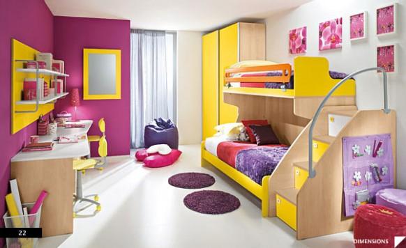 DORMITORIOS INFANTILES PARA DOS via www.dormitorios.blogspot.com
