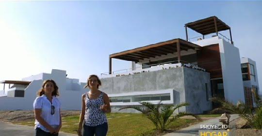 Casa de playa fachadas de casas y casas por dentro for Fotos de casas modernas en lima peru