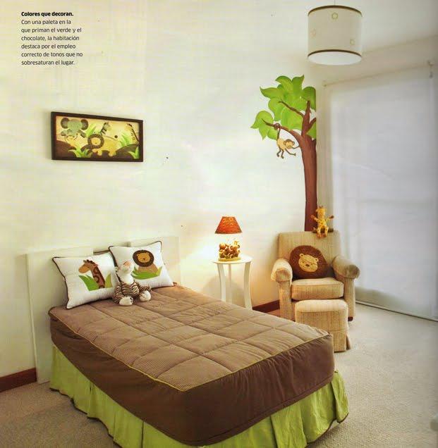 Dormitorios de bebes y nios pequeos - Habitaciones para bebe ...