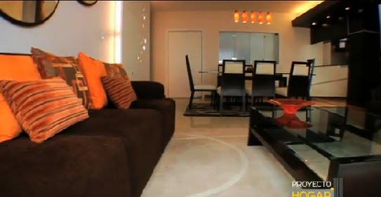 Sala comedor moderna de carla cruz salas y comedores for Sala comedor pequenas modernas