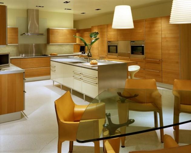 Muebles de madera para cocina elegante cocina y - Maderas para cocinas ...