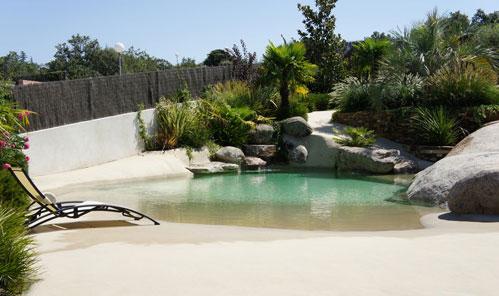 Piscinas de arena piscinas y albercas fotos de piscinas for Cascadas prefabricadas