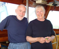 Alan and Patricia in August 2008