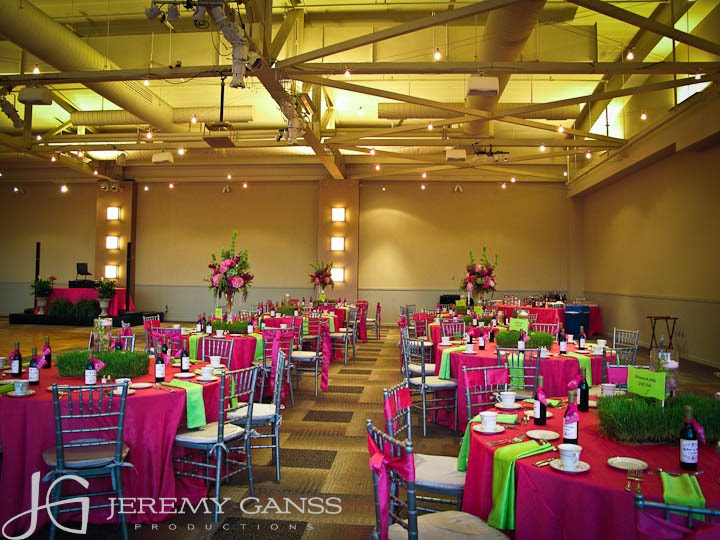 Room Shots The Colors Were Amazingly Bright Very Nice Color Pallet For Wedding Reception