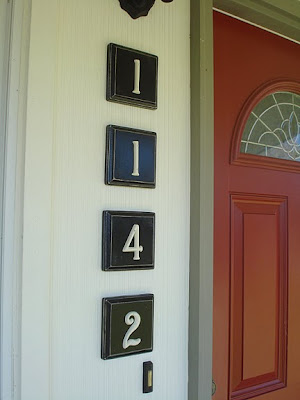 House numbering project