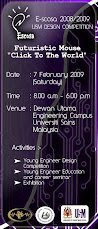 E-SCOSA,USM DESIGN COMPETION , 7th Feb 2009