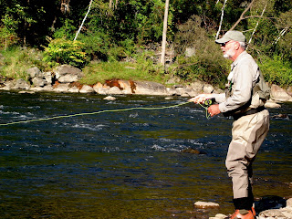 Patience is a virtue for any fly fisher