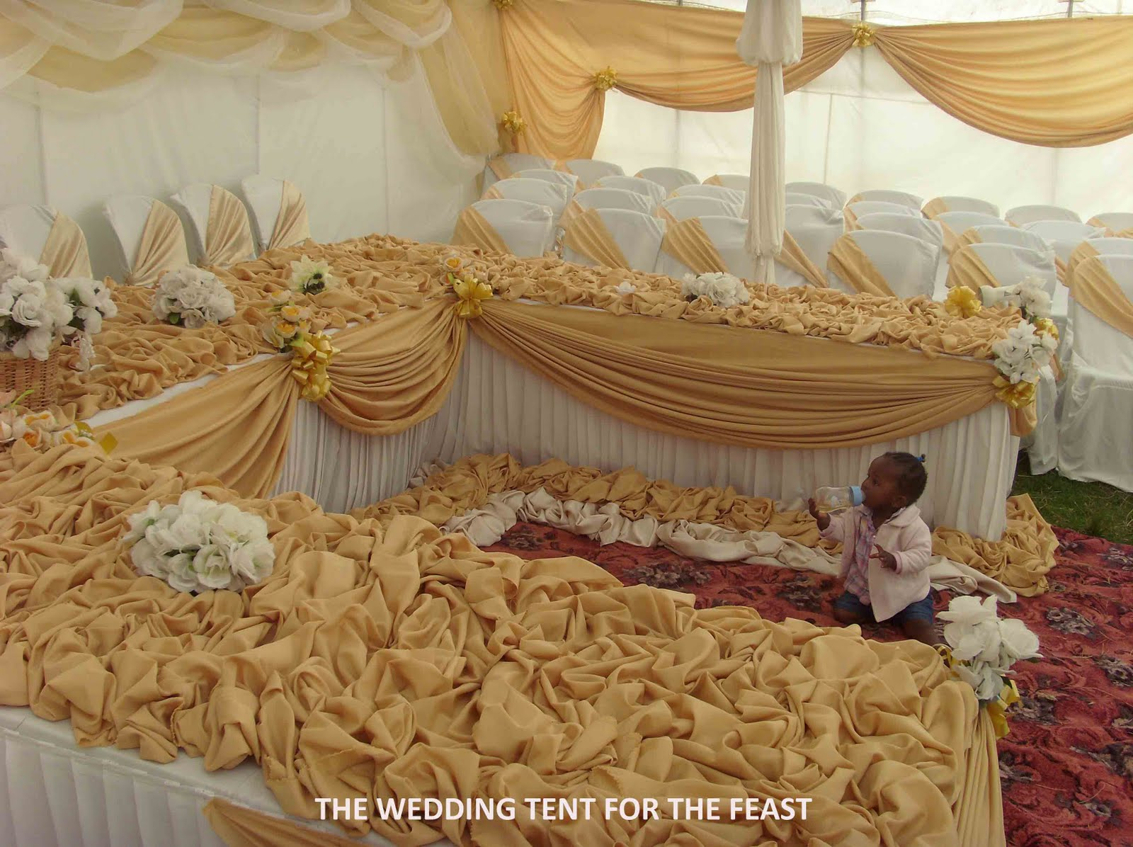African wedding decor romantic decoration decoration and the kitchen under blue skies a basotho wedding junglespirit