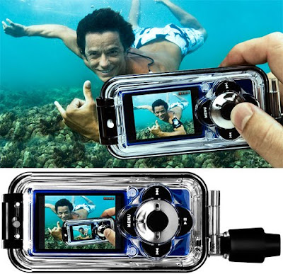 H20 Audio's Capture Waterproof Case, For The iPod Nano With Video! DivX