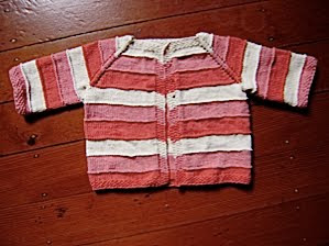 baby jacket - autumn tones