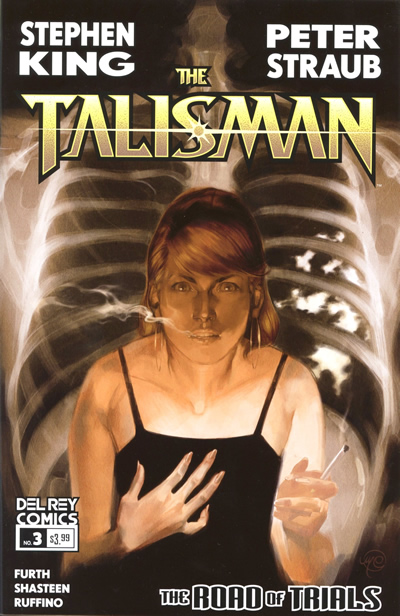 The Talisman: The Road of Trials #3 cover