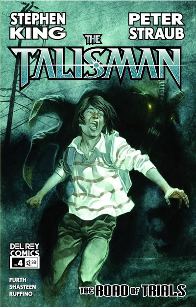 The Talisman: The Road of Trials #4 cover