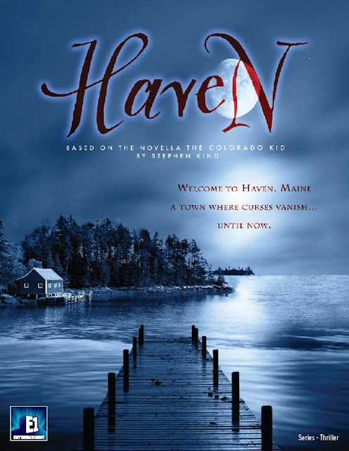 Teaser Poster for Haven based on the story Stephen King's The Colorado Kid