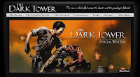 「ダークタワー」オフィシャルサイト(新デザイン)のTOPページ