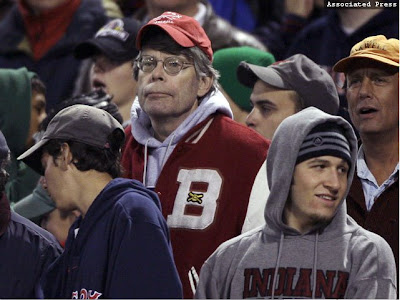 Stephen King watches Fenway Horrors