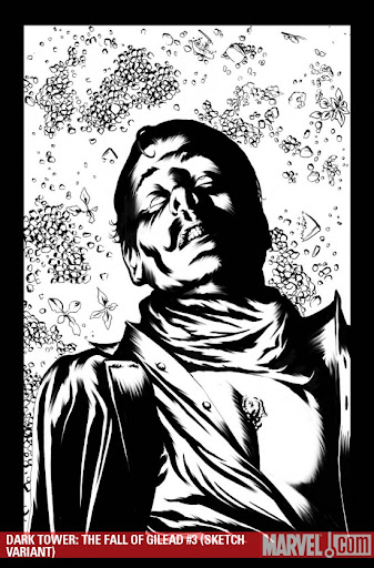 Dark Tower: The Fall of Gilead #3 sketch variant cover