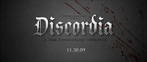 Dark Tower online experience new banner Discordia