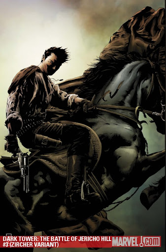Variant Cover of Dark Tower: The Battle of Jericho Hill #3