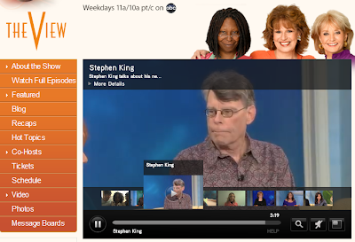 Stephen King on ABC' The View