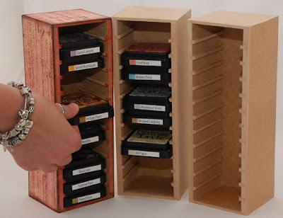 Made by Soraya Ink Pad Storage Tower & CRAFTY STORAGE: Made by Soraya: Ink Pad Storage Tower