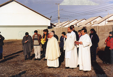 Bendición terrenos Capilla San Pedro Nolasco