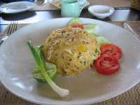 phad thai at Ko Phi Phi