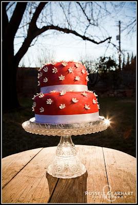 Elegant Christmas Cake Decoration : Ingrid s Adventures in Baking and Cake Decorating: Elegant ...