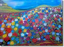 Campo de flores - Ivan Gribel