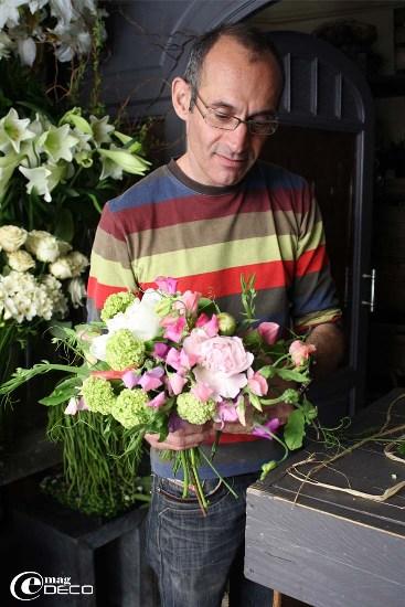 Philippe Martinez, fleuriste à Montpellier