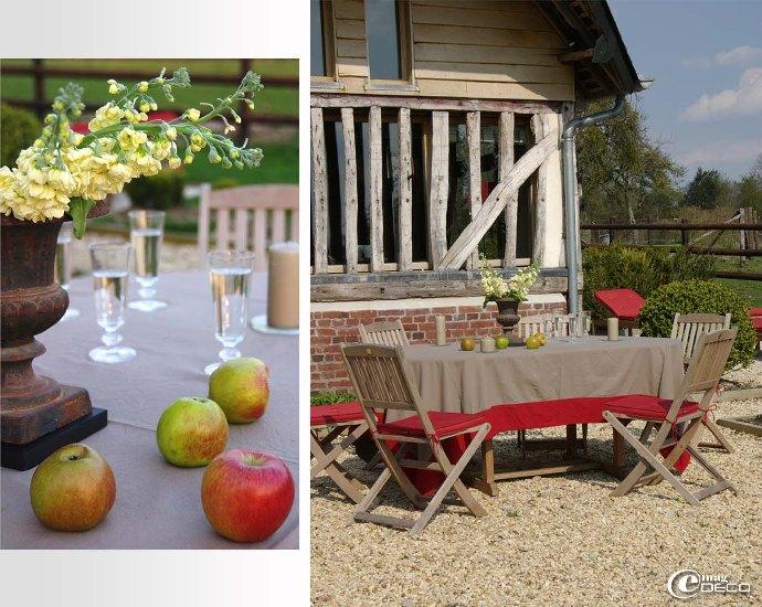 Salon de jardin en tek