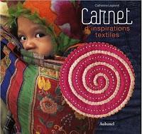 Livre, Carnet d'inspirations textiles