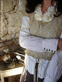 IKKS lacy blouse