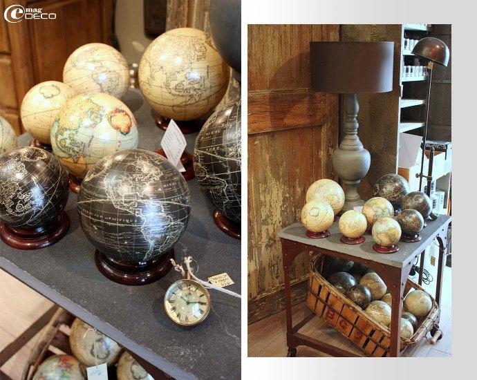Petits globes de la boutique Le Bouche à Oreille