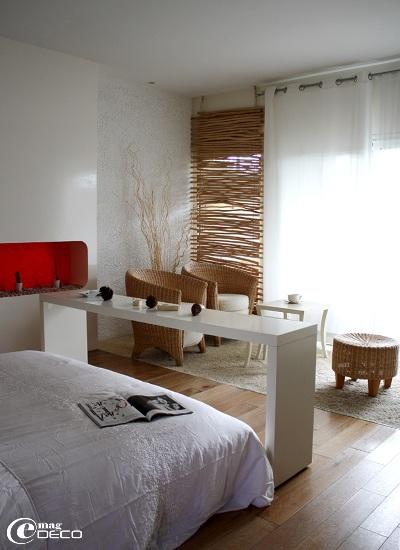 Une chambre de la maison d'hôtes Yamina Lodge