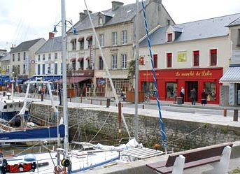 Le marché de Lalie à Port-en-Bessin