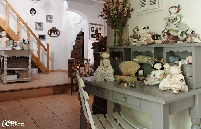 L'atelier de la créatrice Le Jardin des Farfalous