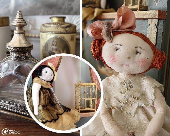 2 poupées de collection Le Jardin des Farfalous