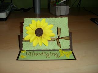 Kims handmade creations uitnodiging vormsel - Voorbeeld van tuindecoratie ...