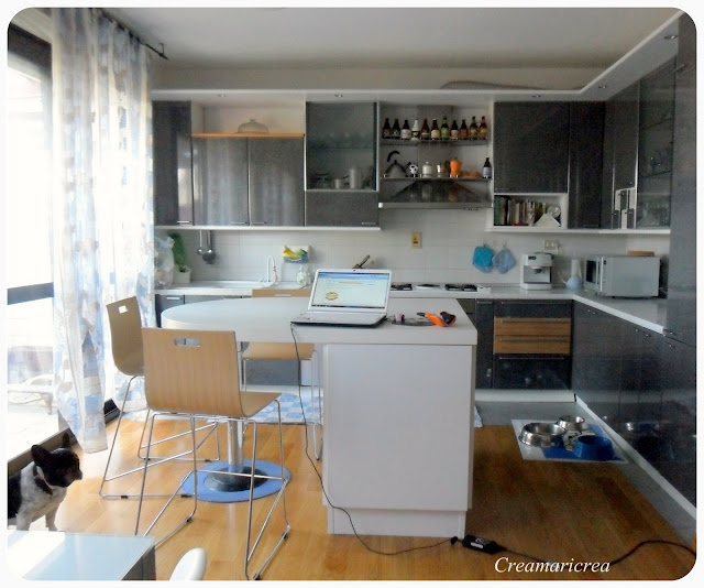 Creamaricrea natale a casa mia - Cucina bianca ikea ...