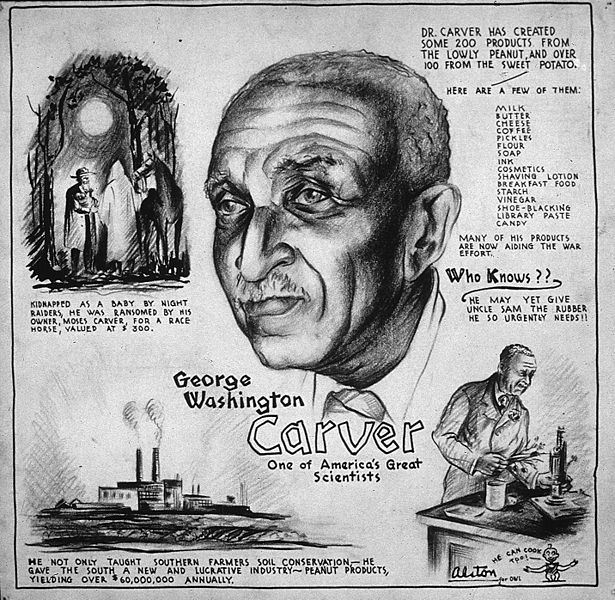 george washington carver patents