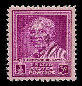 George washington carver st issued on january 5 1948 by the united