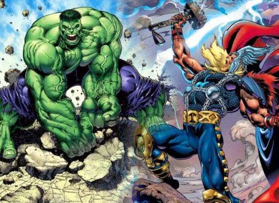 Hulk Vs. Thor Comic