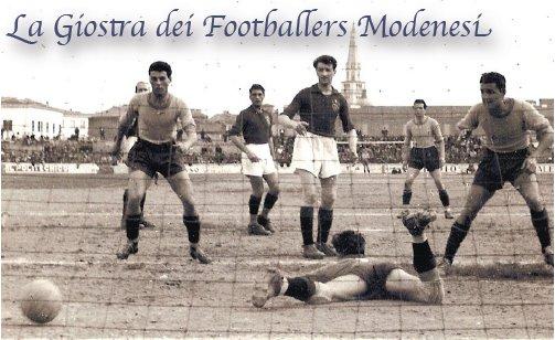 LA GIOSTRA DEI FOOTBALLERS – Associazione Calciofili Modenesi