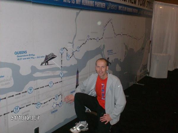 Parkoer NY city marathon