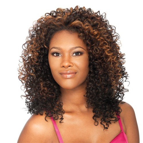 clean hairstyles for black curly hair