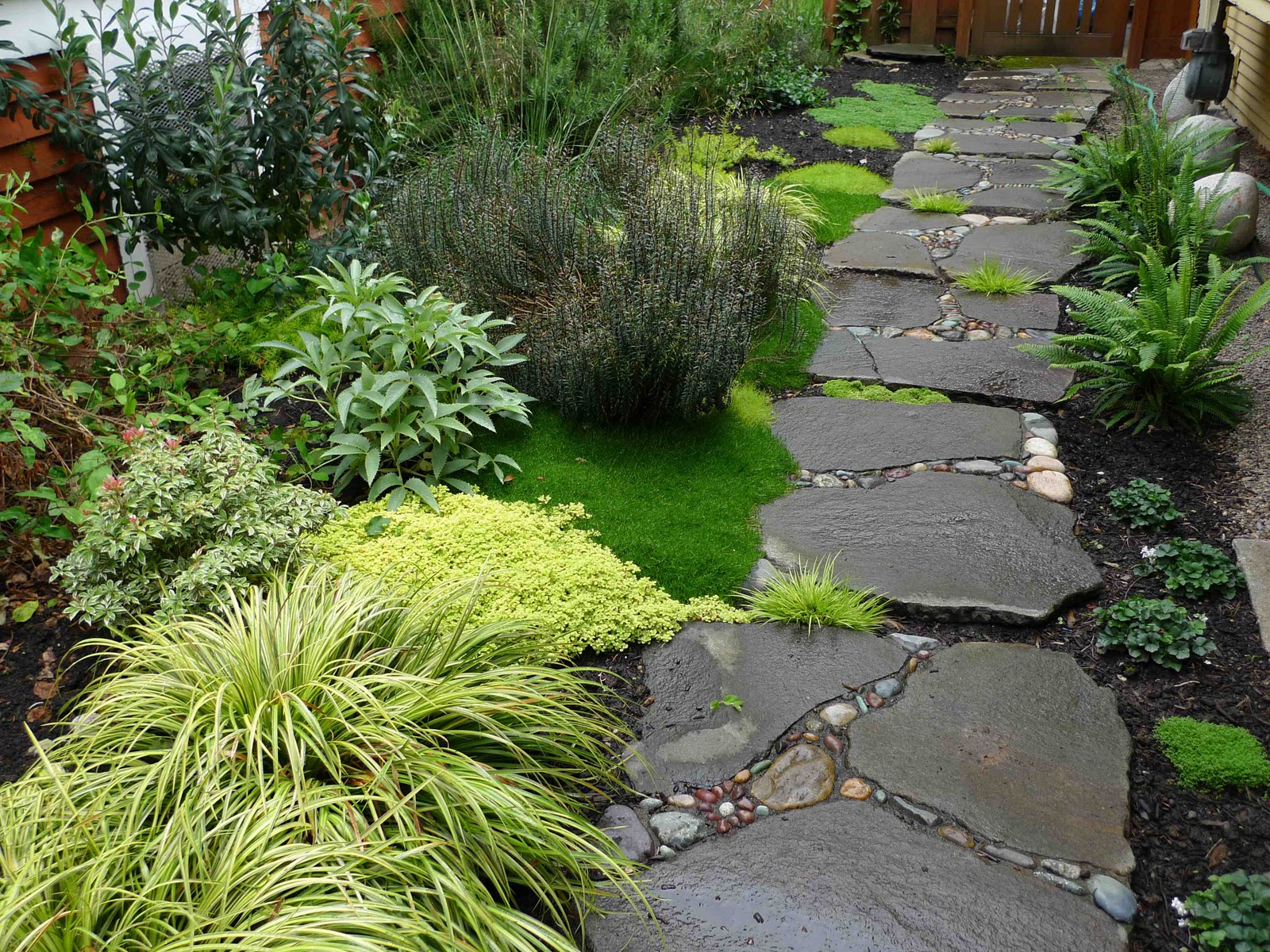 Life Short Front Garden Ideas With Stones