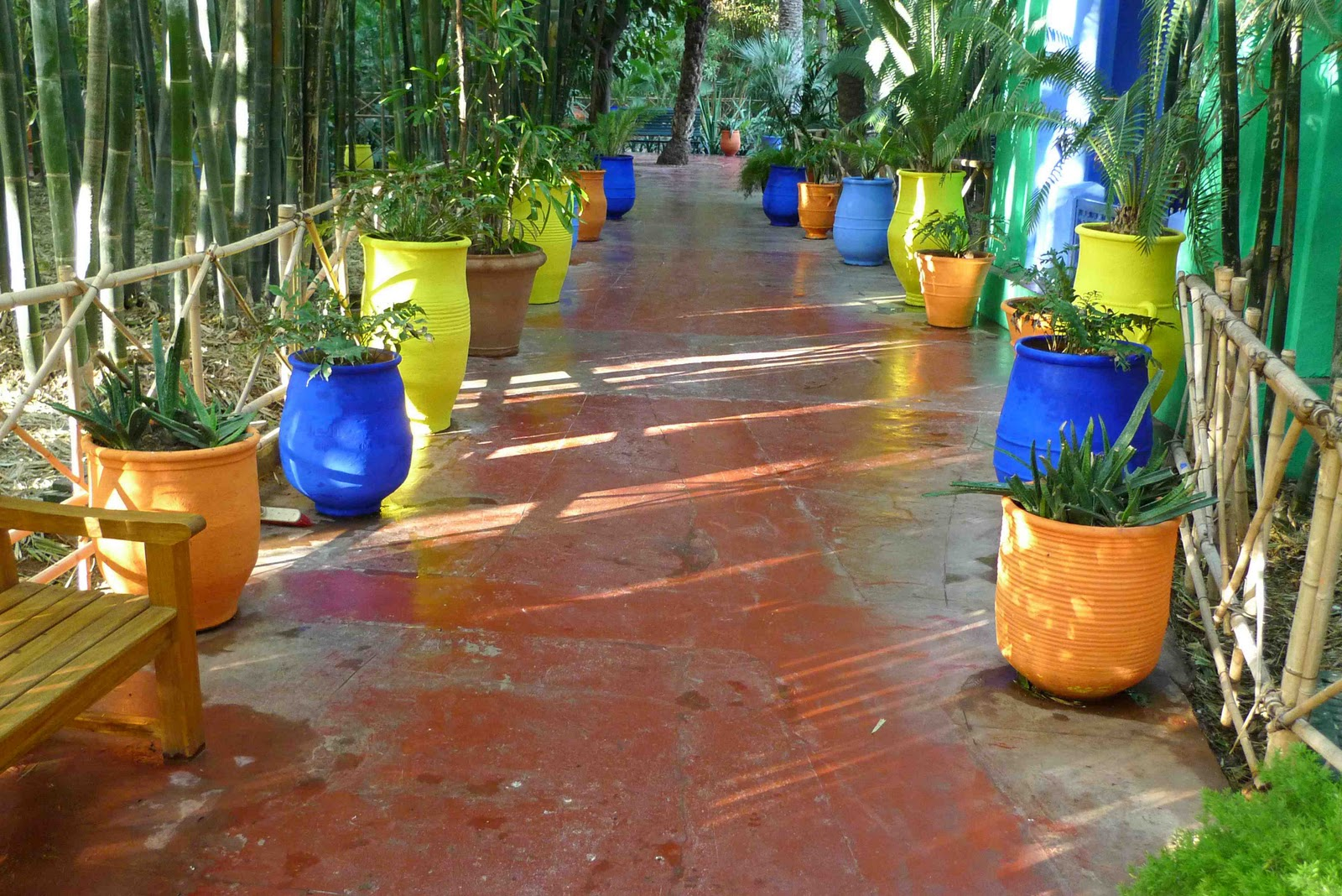 Colorful Garden Pots Moroccan plant pots fabulous antique moroccan pot with moroccan trendy painted pots in the majorelle garden marrakesh with moroccan plant pots workwithnaturefo