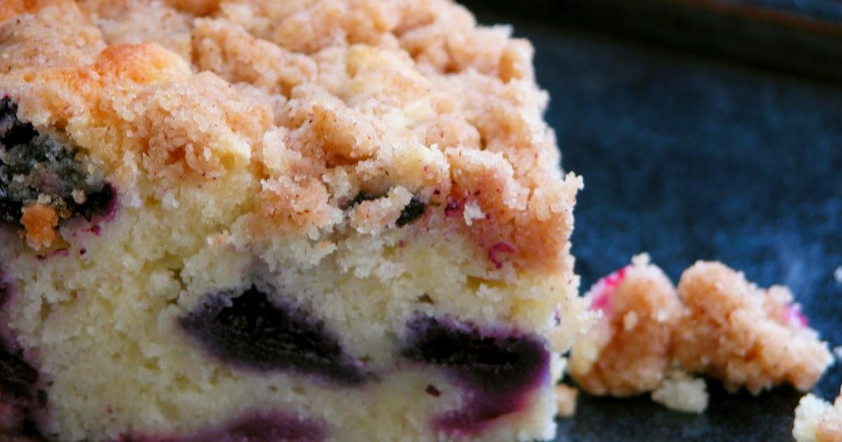Bcblueberry Sour Cream Cake