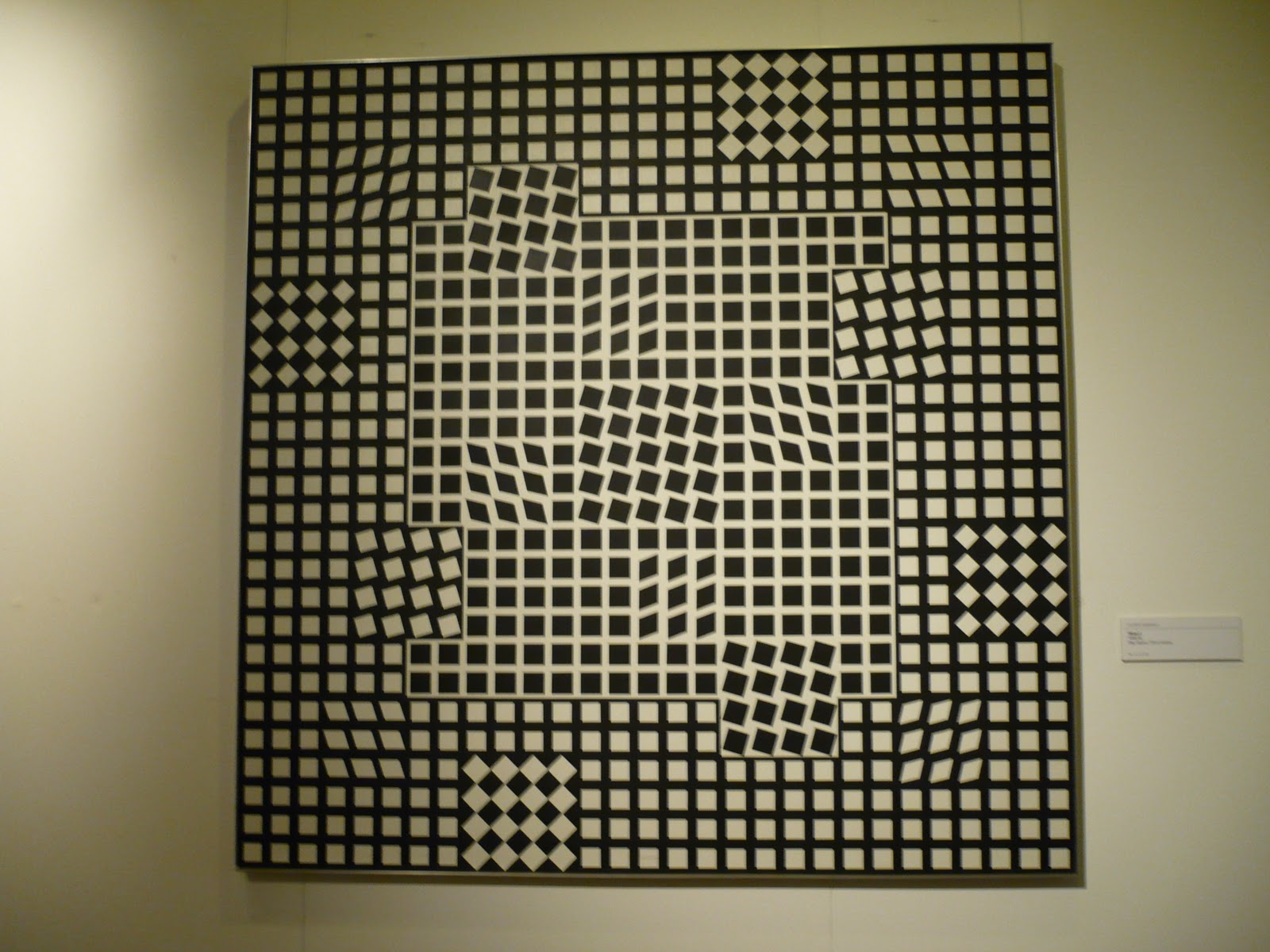Displaying 15> Images For - Victor Vasarely Zebra...: galleryhip.com/victor-vasarely-zebra.html
